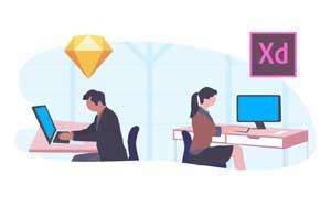 Kursus desain grafis di Bekasi UI UX Design