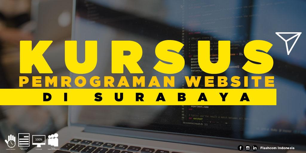 Tempat Kursus Pemrograman Website di Surabaya