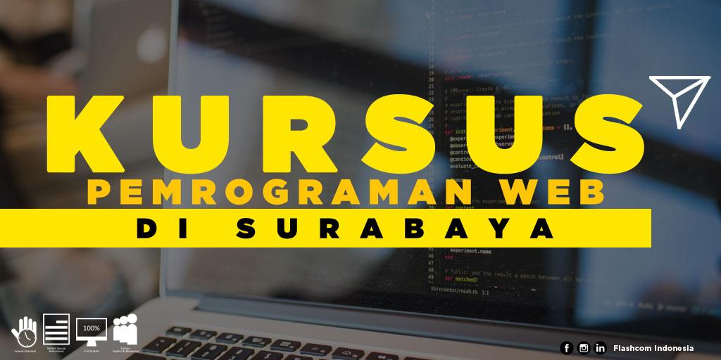 Tempat Kursus Pemrograman Web di Surabaya