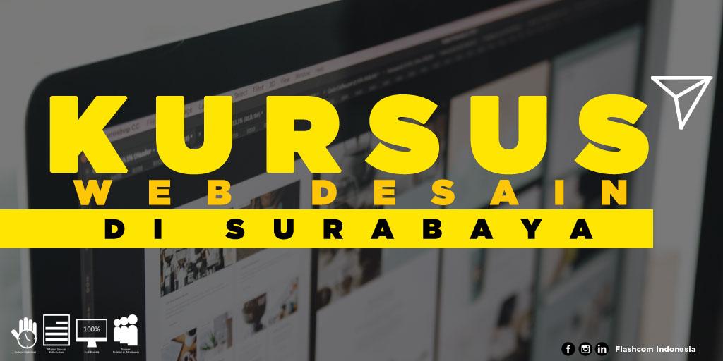 Tempat Kursus Web Desain di Surabaya