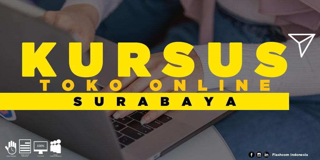 Tempat Kursus Toko Online Surabaya