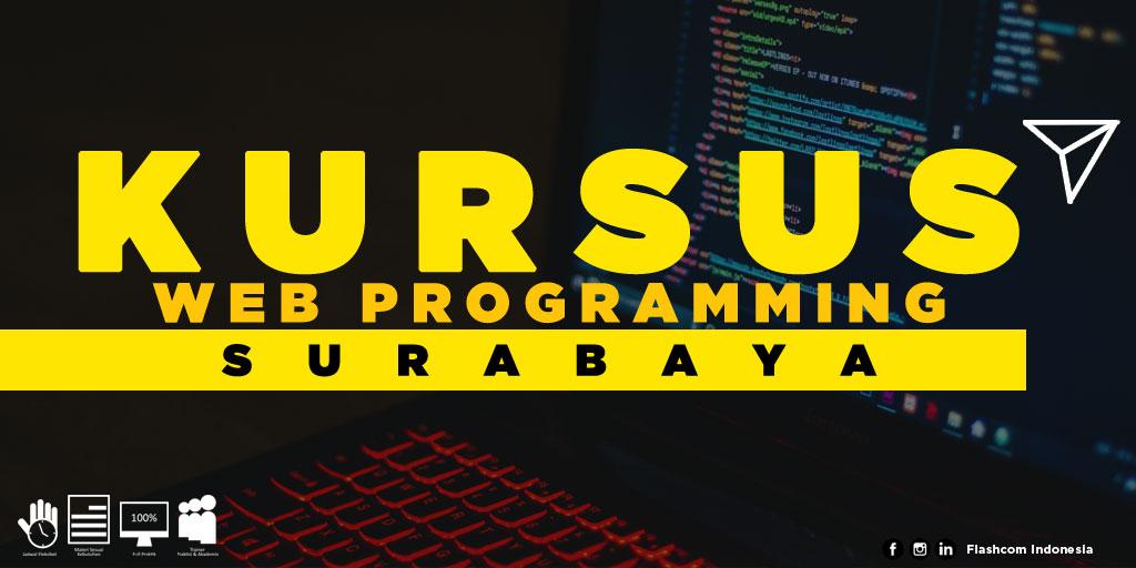 Tempat Kursus Web Programming Surabaya