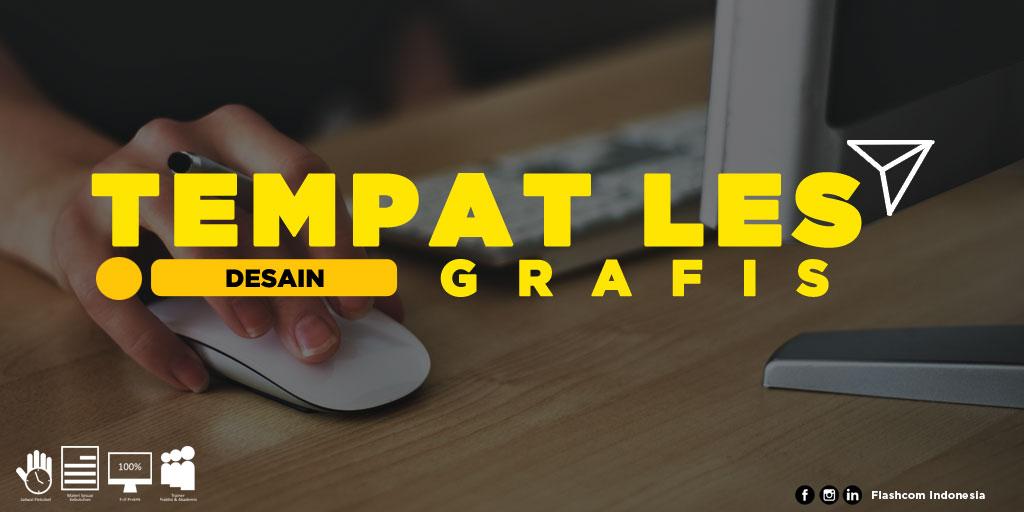 Tempat Les Desain Grafis