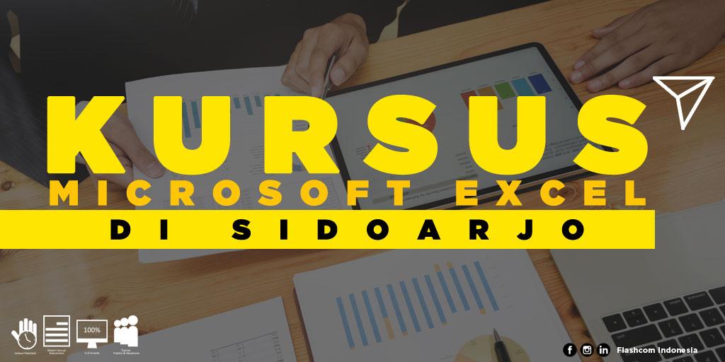 Tempat Kursus Microsoft Excel di Sidoarjo