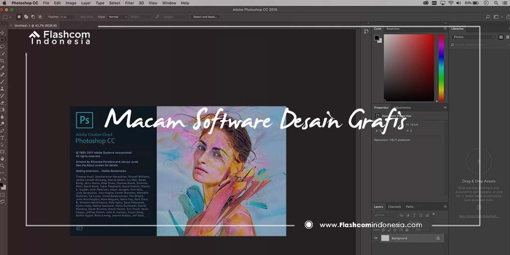 Penting ! Macam Software Desain Grafis yang Sering Digunakan Ahlinya