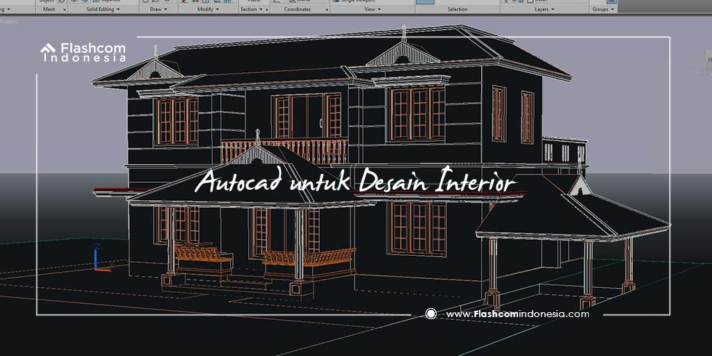 Autocad diperlukan untuk Desain Interior