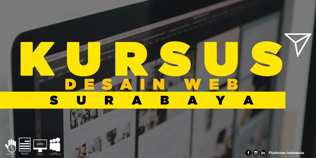 Tempat Kursus Desain Web Surabaya