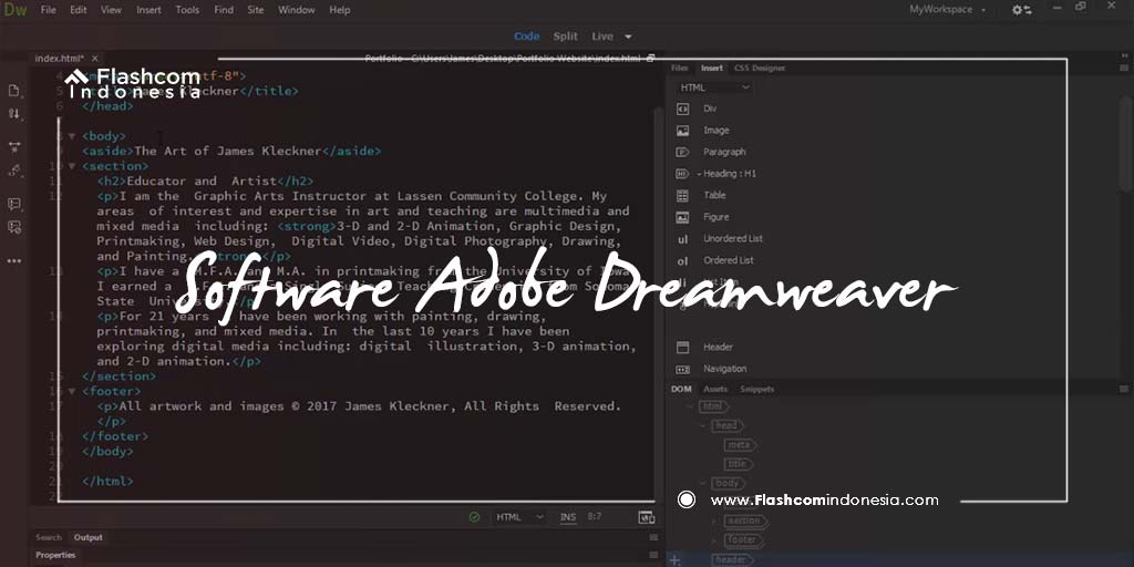Berbagai Fitur Keren dari Software Adobe Dreamweaver yang Mungkin Belum Kamu Ketahui