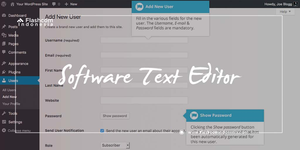 Software Text Editor
