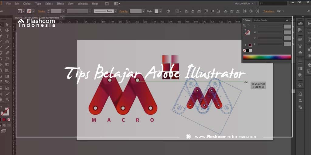 Tips Belajar Adobe Illustrator