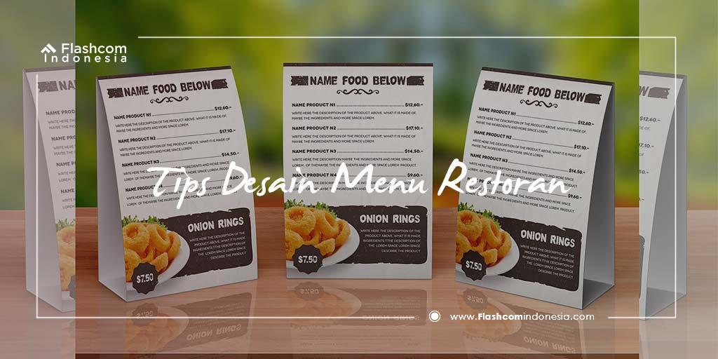 Tips Desain Menu Restoran