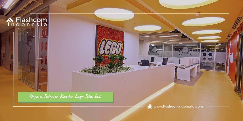 Inilah Desain Interior Kantor Lego di Istanbul Membuat Kalian Kagum