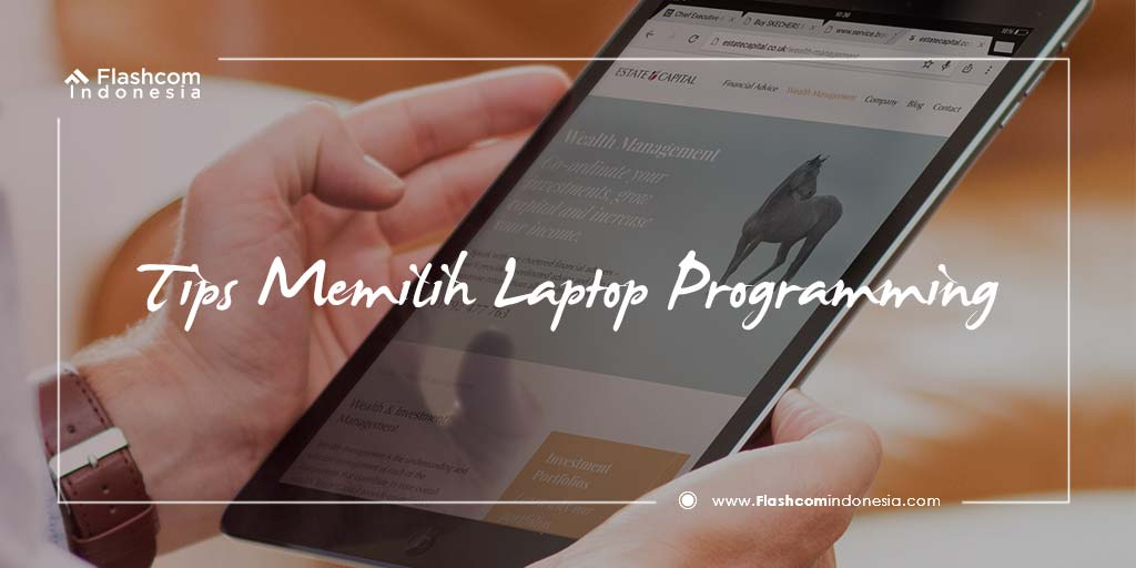 Tips Memilih Laptop Programming