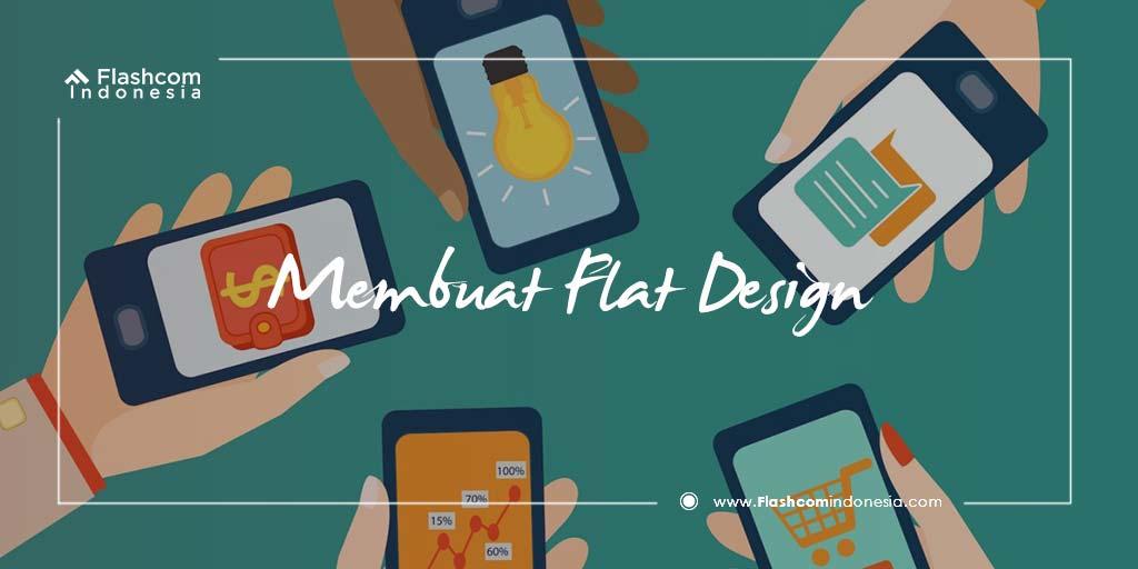 Cara Mudah Membuat Flat Design Menggunakan Adobe Photoshop Yang Wajib Dicoba!