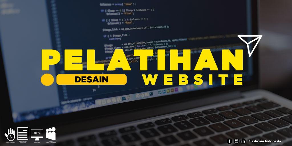 Pelatihan desain website yang diselenggarakan Flashcom Indonesia, langsung dibimbing para trainer praktisi & berpengalaman.