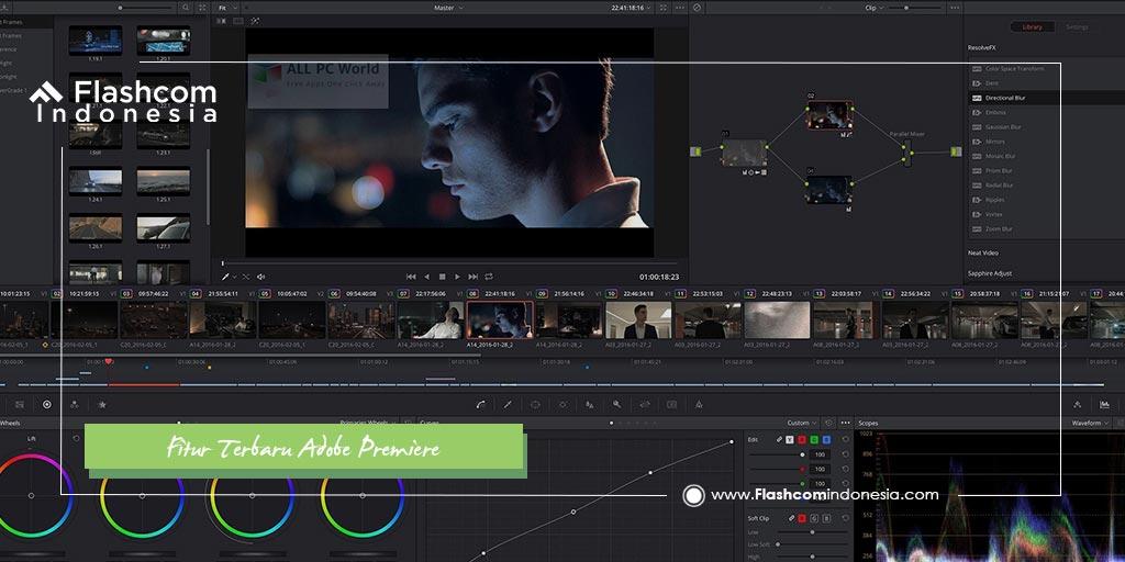 Fitur Terbaru Adobe Premiere