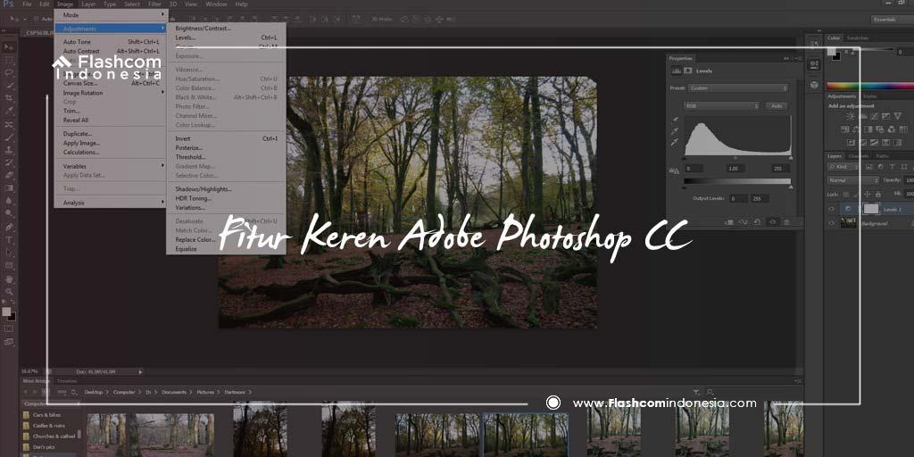 Beragam Fitur Keren dan Menarik Adobe Photoshop CC Wajib Kamu Unduh !
