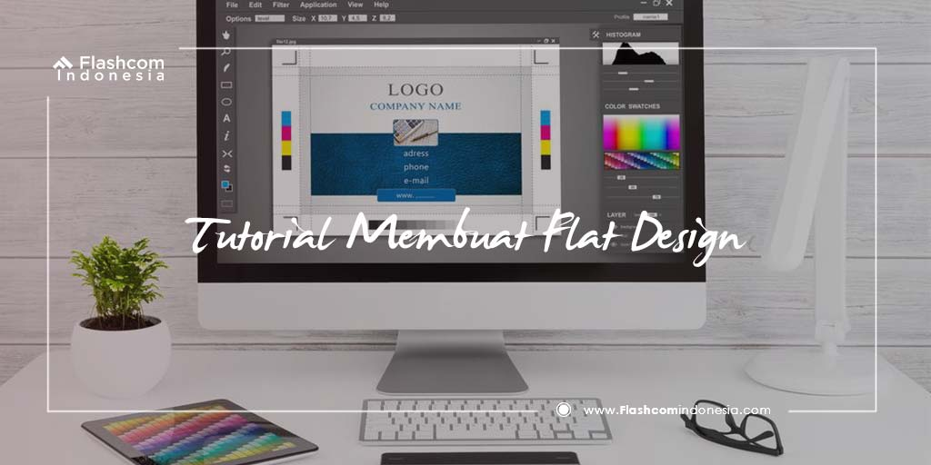 Tutorial Membuat Flat Design