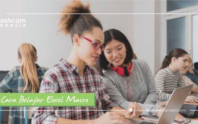 Cara Belajar Excel Macro Dasar Untuk Pemula Hingga Tingkat Mahir
