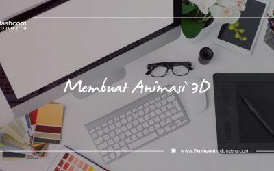 Tips membuat animasi 3D dan software yang sering digunakan animator