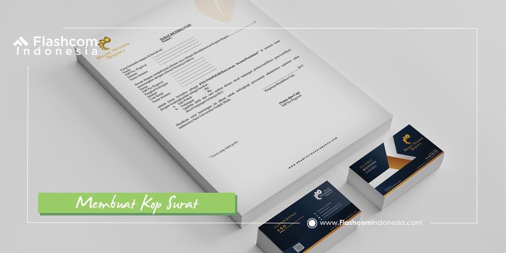 Wajib Tahu ! Pentingnya Membuat Kop Surat Untuk Perkembangan Bisnis Anda