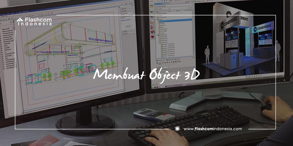 Membuat Object 3D