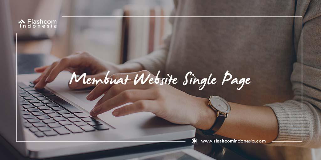 Cara Cepat Membuat Website Single Page Dengan HTML