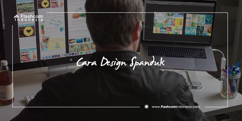 Cara Desain Spanduk