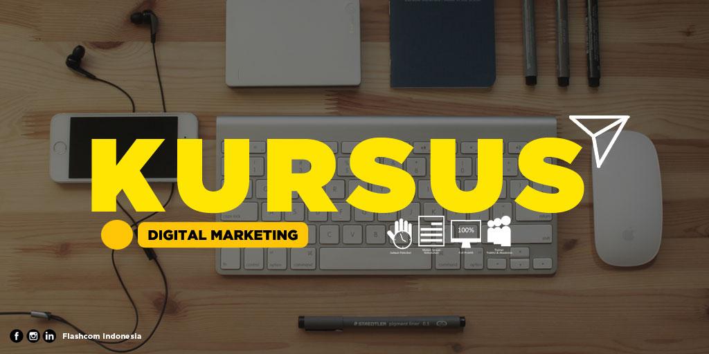 Kursus Digital Marketing di Flashcom