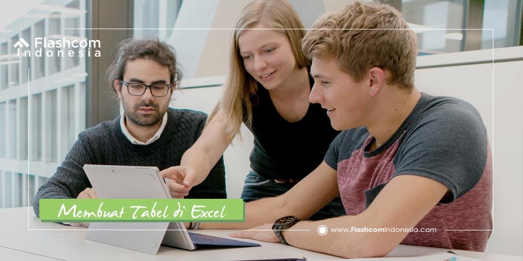 Mau Buat Data Perusahaan Anda Lebih Rapi? Gunakan Cara Membuat Tabel di Excel ini !