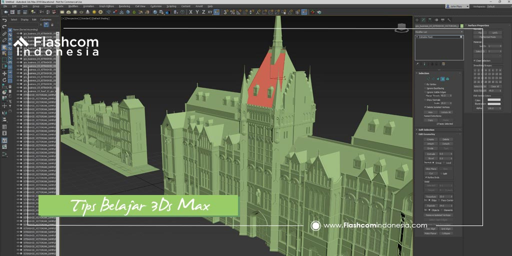 Rahasia ! Tips Belajar 3Ds Max untuk pemula Jarang Diketahui Orang