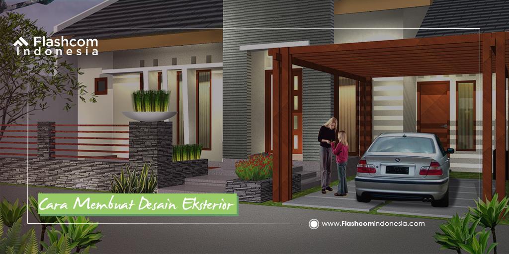 Cara Membuat Desain Eksterior Rumah Minimalis Tampak Indah beserta Tipsnya