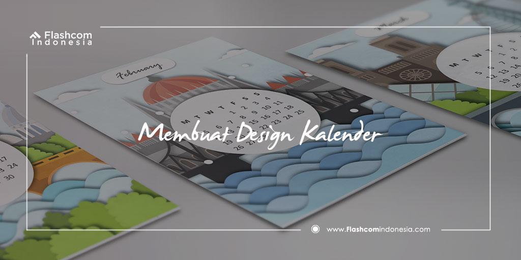 Membuat Desain Kalender