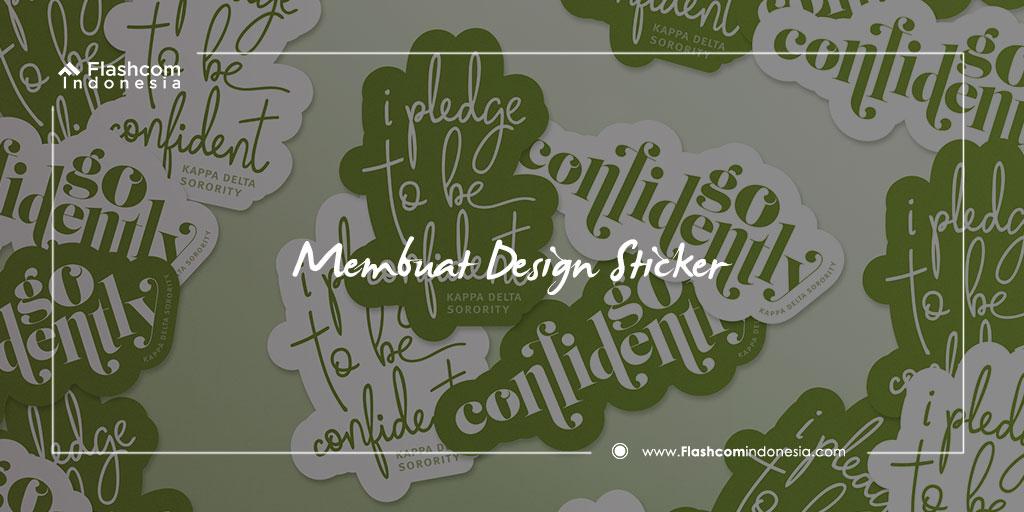 Cara Membuat Desain Stiker Keren Dan Menarik Dengan Photoshop