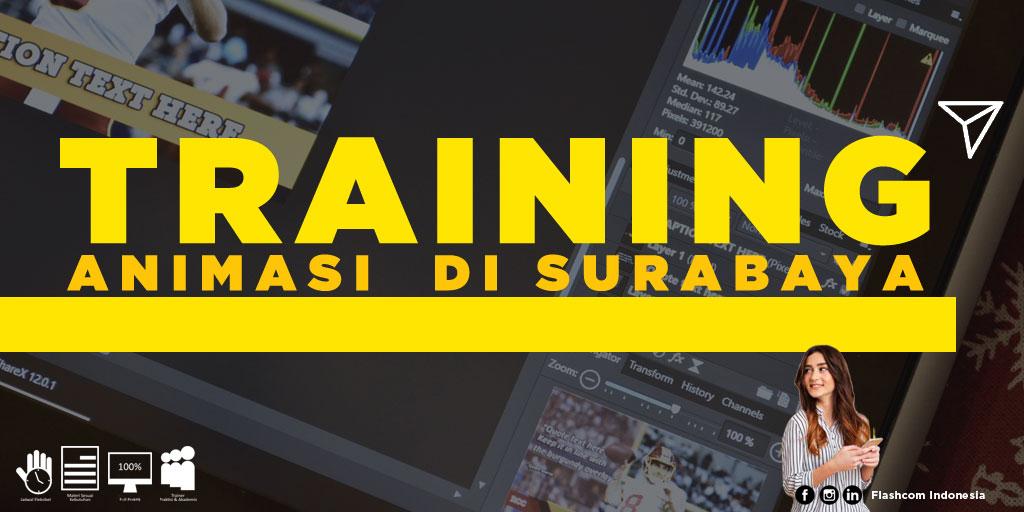 Tempat Training Animasi di Surabaya