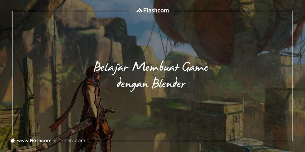 Belajar membuat Game dengan Blender