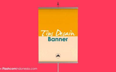 Tips desain banner yang keren dan menarik perhatian konsumen
