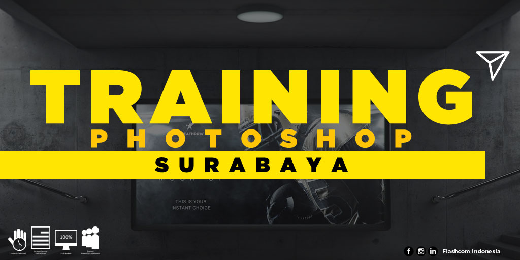 Tempat Training Photoshop Surabaya