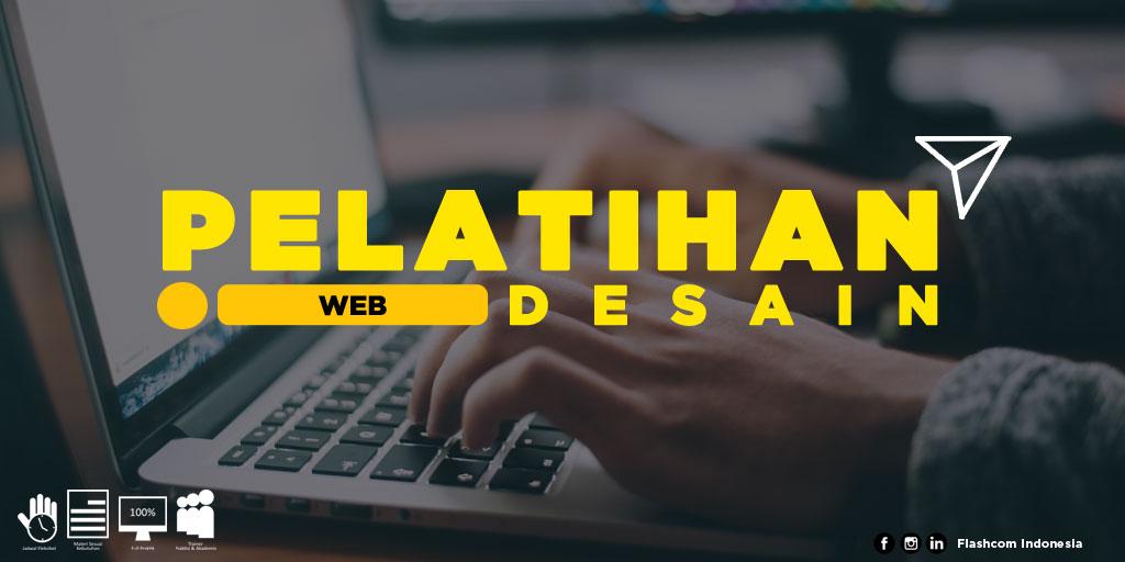 Pelatihan Web Desain di Flashcom