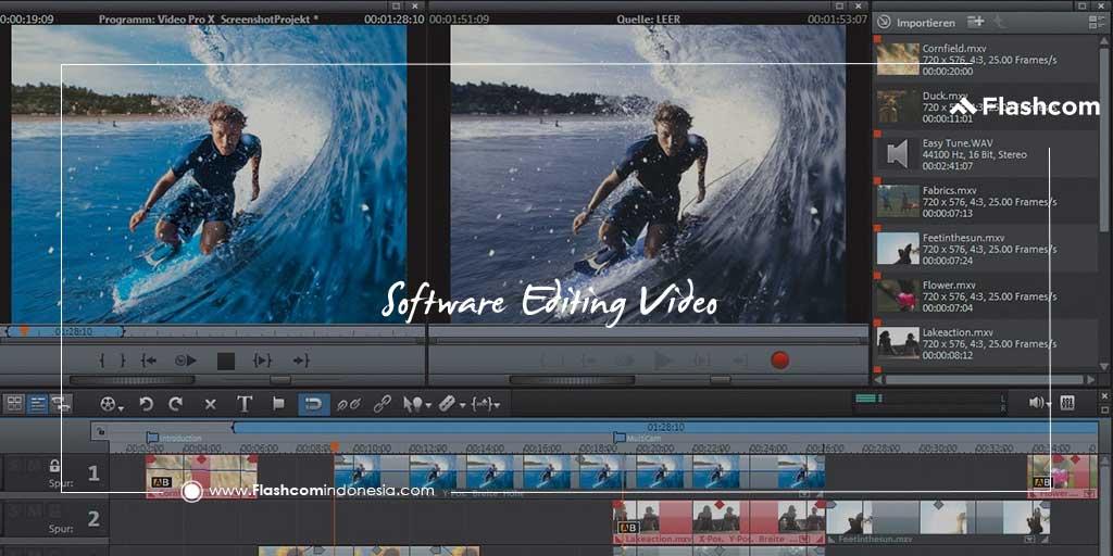 3 Software Editing Video Paling Sering Digunakan Editor Profesional