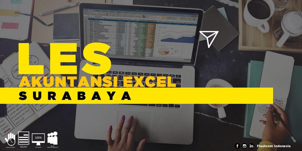 Tempat Les Akuntansi Excel Surabaya