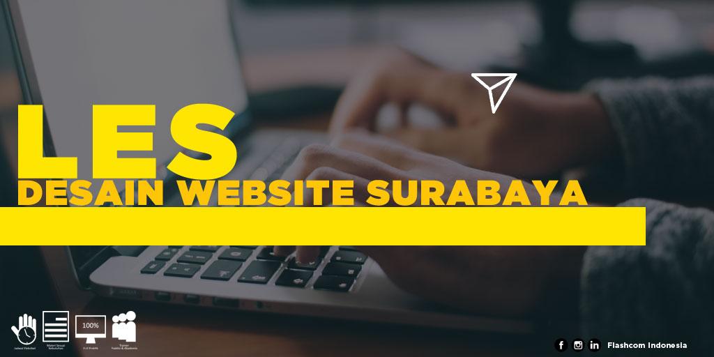 Tempat Les Desain Website Surabaya