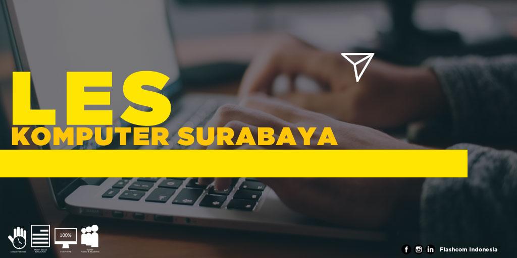 Tempat Les Komputer Surabaya