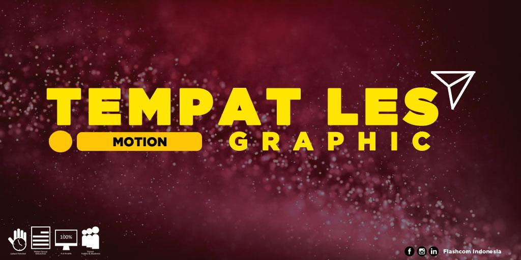 Tempat Les Motion Graphic