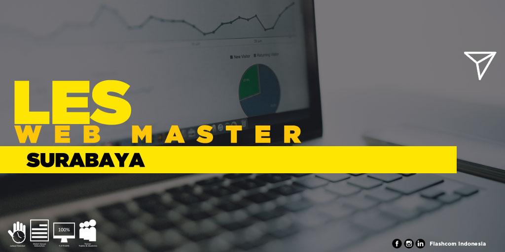 Tempat Les Web Master Surabaya