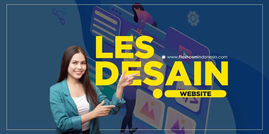 LES DESAIN WEBSITE
