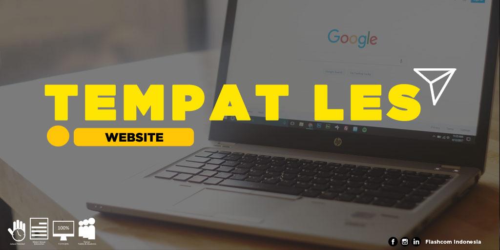 Tempat Les Website