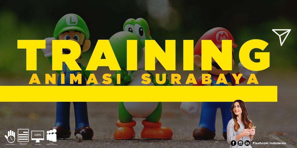 Tempat Training Animasi Surabaya