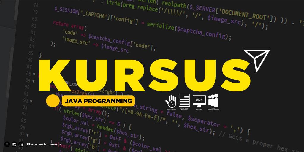 5 Keunggulan belajar java dengan Kursus Java Programming bersama Flashcom