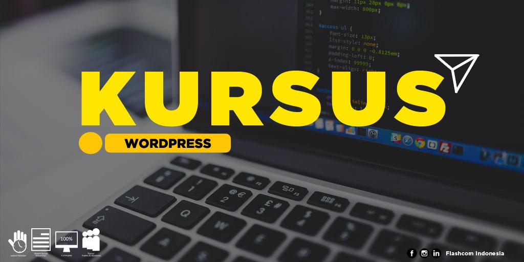 Tempat Kursus Wordpress Mahir